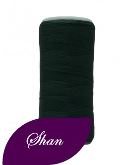 Shan woolly nylon thread 500 yards Colour Dark green