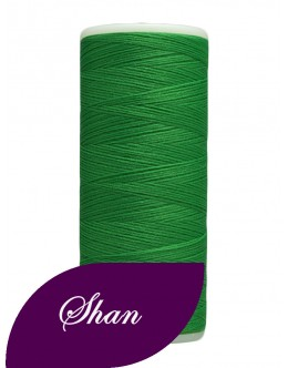 Shan woolly nylon thread 500 yards Colour Green