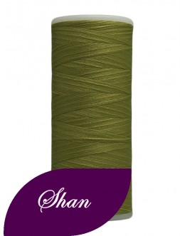 Shan woolly nylon thread 500 yards Colour Olive