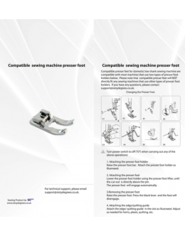 Compatible Metal Open Toe Foot