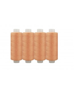 Shan® All Purpose Polyester Sewing Thread - Pack of 4 reel - Coral
