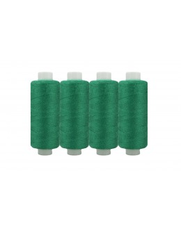 Shan® All Purpose Polyester Sewing Thread - Pack of 4 reel - Forest green