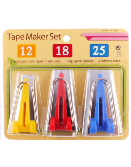 Bias tape makers pack of 3